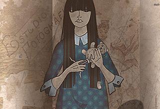 Some noir. PhotoShop illustration