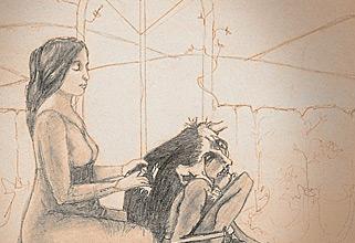 Little Zaches. Hand drawn illustration