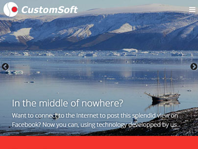 thumbnail of www.customsoft.ro website