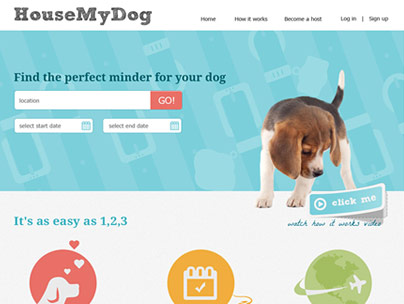 thumbnail of housemydog.com website