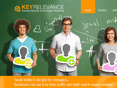 thumbnail of keyrelevance.com website