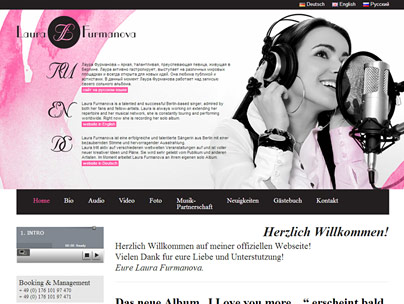 thumbnail of LauraFurmanova.com website