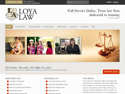 thumbnail of loyalaw.com website