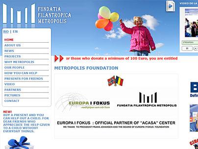 thumbnail of fundatiametropolis.ro website
