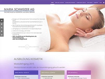 thumbnail of mariaschweizer.ch website