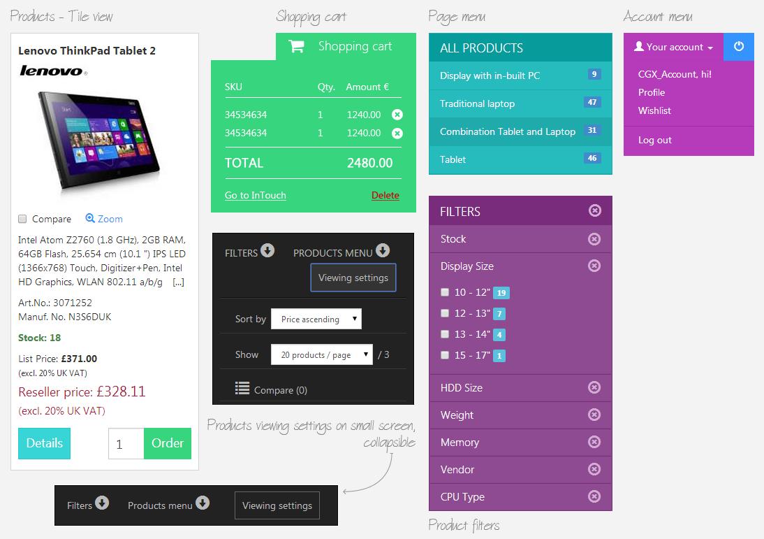 UI elements screenshot