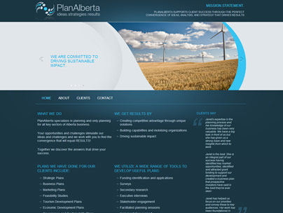 thumbnail of planalberta.com website