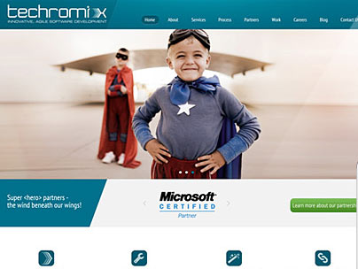 thumbnail of techromix.com website