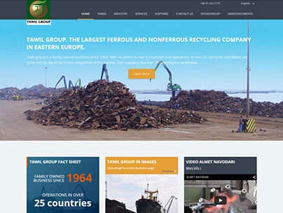 thumbnail of tawilgroup.ro website