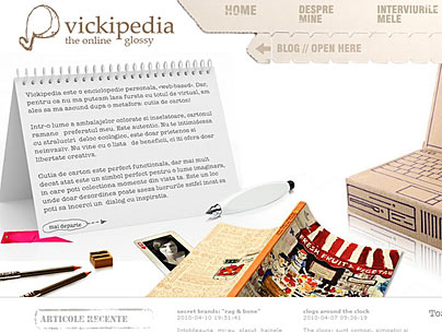 thumbnail of vickipedia.ro website