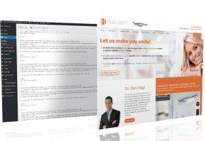 Custom WordPress Web Design, Romania