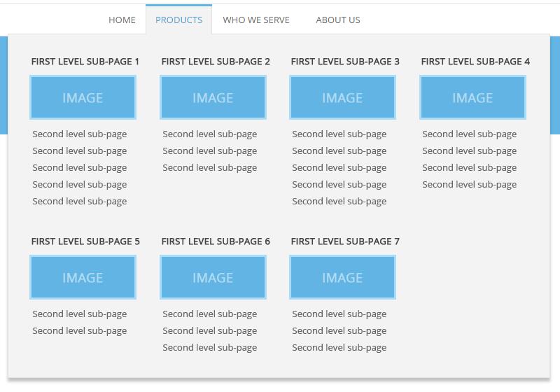 Fast & Easy WordPress Mega Menu without Plugins