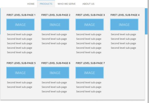 Fast & Easy WordPress Mega Menu without Plugins