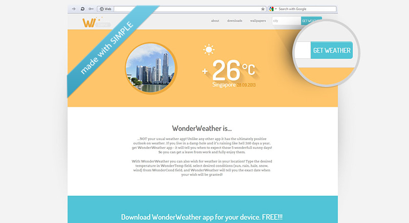 Simple Responsive Template - Simple responsive website templates free download