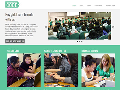 Girls Teaching Girls to Code