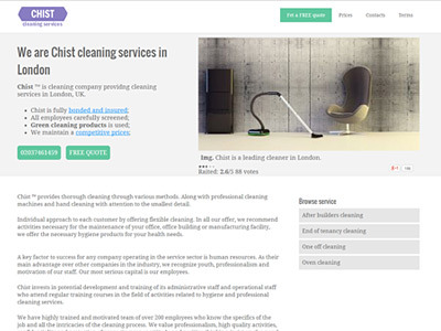 Chist Cleaning Services